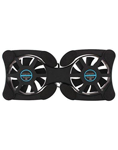 Technotech Laptop Cooling Pad Folding (Black)