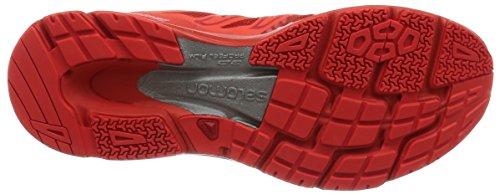 Salomon S-Lab Sonic, Scarpe da Trail Running Unisex – Adulto Rosso