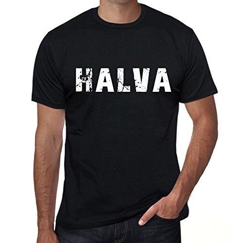 halva Herren T Shirt Schwarz Geburtstag Geschenk 00553