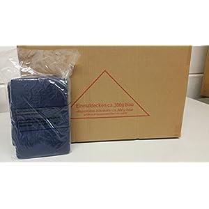 Einweg-Patientendecke Einmaldecke blau 110 x 190 cm weich wattiert- 300gr. PP-Vlies