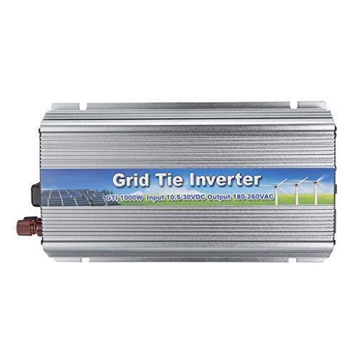 perfk Spannungswandler 1000W Wechselrichter DC10.5-30V AC180-260V MPPT-Funktion Power Inverter Converter -