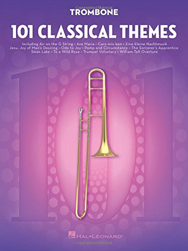 101 Classical Themes -For Trombone- (Book): Noten, Sammelband für Posaune