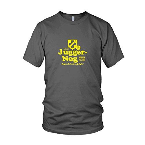 Preisvergleich Produktbild Juggernog - Herren T-Shirt, Größe: L, Farbe: grau