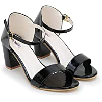 DROHARI Woman Trending Stylish Fancy and Comfort Heel Fashion Sandal