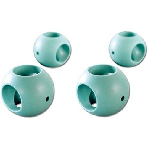 Boule Magnétique Anticalcaire - Lot de 4 (2 lave vaisselle + 2 lave linge)