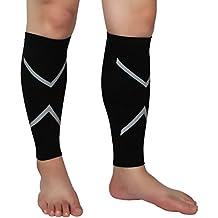 Sumaju Herren / Damen Kompressionsbandage für Waden / Beine, für Schienbeinschmerzen, Schmerzlinderung