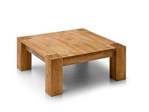 moebel-eins Alan Couchtisch, Material Massivholz, Asteiche