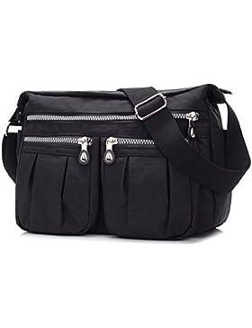 16b29be049544 sportliche Handtasche   Schultertasche   Umhängetasche aus Nylon