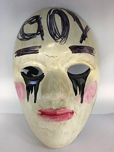 The Purge 'Gott' Anarchie Film Cosplay Maske mit Gummiband