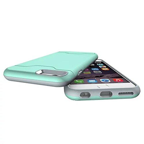 6 iPhone Case, Valenth Hybrid Festplatte zurück Hülle mit Ständer Etui Shell Cover für iPhone 6 color 2