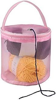 Amaae® New Mesh Bag Lightweight Portable Yarn Crochet Thread Storage Organizer Tote PK