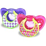 The First Years Gumdrop Hospital Pacifier With Ring, 6-18 Months