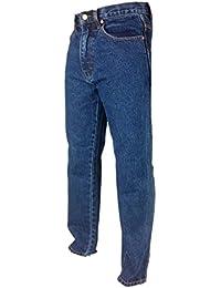 EXCELLENT QUALITY Regular Fit Plain Comfy Jeans Tough Hard Wearing Pants Black Stonewash Lightwash Bleachwash Blue Aztec Denim Jeans