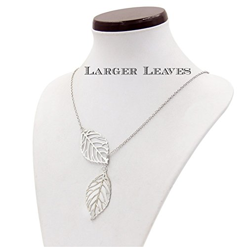 buy-any-2-get-1-free-larger-silver-double-leaf-pendant-unique-fashion-jewellery-necklace-diamond-2-l