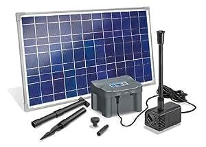 esotec solar teichpumpen system marino plus mit akku. Black Bedroom Furniture Sets. Home Design Ideas