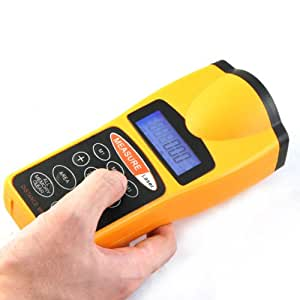 Infrarouge à ultrasons de poche Mètre laser infrarouge Ray Distance Tester CP3007