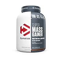 Dymatize Super Mass Gainer, Rich Chocolate, 6 lbs
