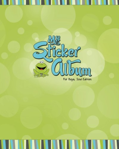 My Sticker Album for Boys, 2nd Edition