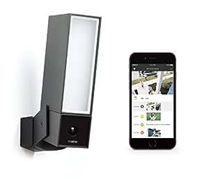 Caméra de Surveillance Extérieure Intelligente avec éclairage intégré - Netatmo Presence