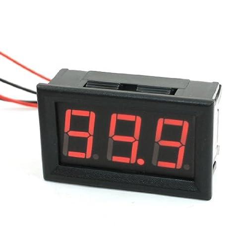 0-100ADC 3 Digit Red LED Display Digital AMP Meter Ammeter