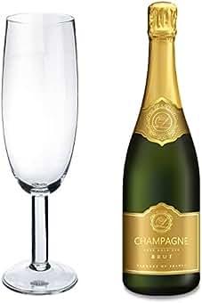 Beba pista de gigante de cristal de champán - 750ml