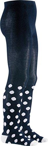 Playshoes Unisex - Baby Strumpfhose 499009 Strumpfhose Punkte von Playshoes, Gr. 50/56, Blau (11 marine)