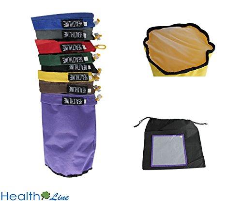 Aussparung zum Zurücklehnen ® Bubble Bag 1Liter 8Staubbeutel Ice Herbal Hash 100% Nylon Extractor Kit gratis Drücken Display & Carry Tasche