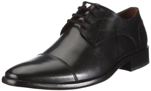 Manz Essex AGO G 113033 Herren Schnürhalbschuhe Schwarz (schwarz 001)