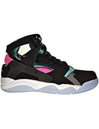 sports shoes 7026a 63113 Nike Air Flight Huarache Men s Shoes Black Light Retro-Pink Pow-White 705005 -003 (11.5…