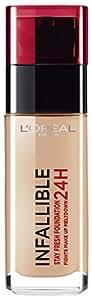 L'Oreal Paris Infallible 24Hr Liquid Foundation, Golden Beige 140, 30ml