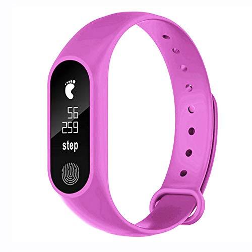 Bluetooth Smartwatch Fitness Uhr Intelligente Armbanduhr Fitness Tracker Smart Watch Sport Uhr, M2 Pedometer Smart Armband Herzfrequenz Bluetooth 4.0 für Android und IOS Smartphones Damen Herren