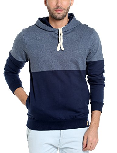 Campus Sutra Men's Sweatshirt (AZW17_HHH_M_PLN_BUDN_AZ_M_Blue Denim_Medium)