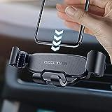INIU Handyhalter Fürs Auto, 360°Drehbar KFZ Handy Halterung Auto Verriegelung Freigabe Autozubehör Kompatibel mit iPhone 11 11 Pro XS X 8 8+ Samsung Galaxy S10 S9 S8 Note 10 9 Huawei P30 Google