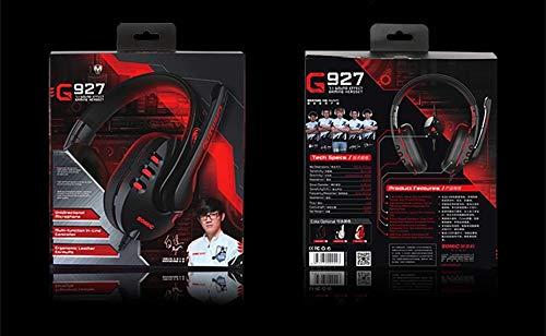 TGSKGZKJDBMD Headsets Virtual 7.1 Surround Sound, Geräuschunterdrückung Setero Headset Strong Bass Kopfhörer für PS4 Gaming mit Mikrofon, Weiß mit Geschenkbox