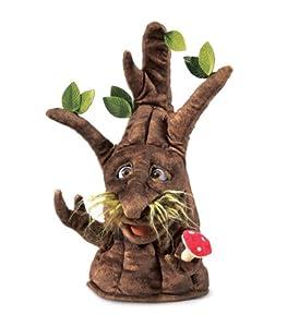 Folkmanis Puppets 2950 - Marioneta, diseño de árbol Encantado