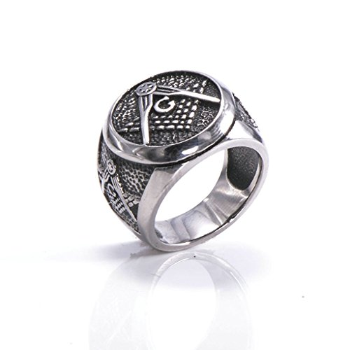 mens-316l-stainless-steel-freemason-band-ring-masonic-ring-silver-size-r-1-2