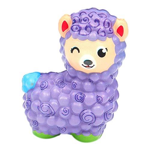 Squeeze-Spielzeug,Jumbo-Schaf-Stress-Reliever-Super-Schleppend-Steigend-Kinder-Drücken-Toy,Neuer-Cartoon-PU-Langsamer-Rebound,Super-Weiches-Und-Umweltfreundlich