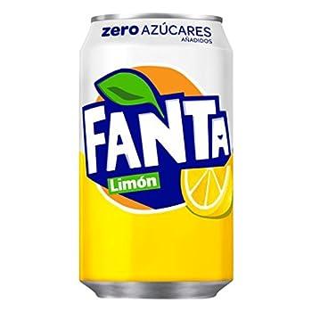 Fanta Zero Limon Refresco...