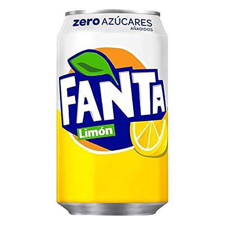Fanta Zero Limon Refresco con gas 330 ml Lata