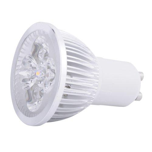 Preisvergleich Produktbild 4Stück Stück 10-high Power 3W 4W 6W 8W 9W GU10led kaltweiß Leuchtmittel Energiesparend Licht., gu10, 4.0 wattsW