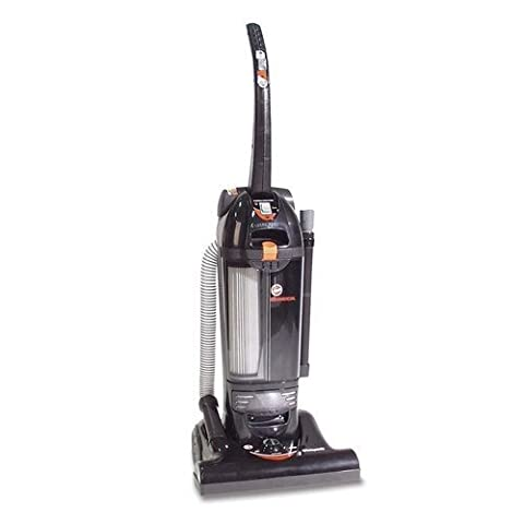 Hoover Commercial Bagless Hush Upright Vacuum, 15 lbs, Black by Hoover