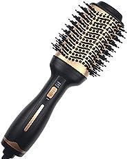 Hot Air Brush,Hair Dryer Brush, Professional Hair Dryer & Volumizer 3 in 1 Upgrade Anti-Scald Negative Ion
