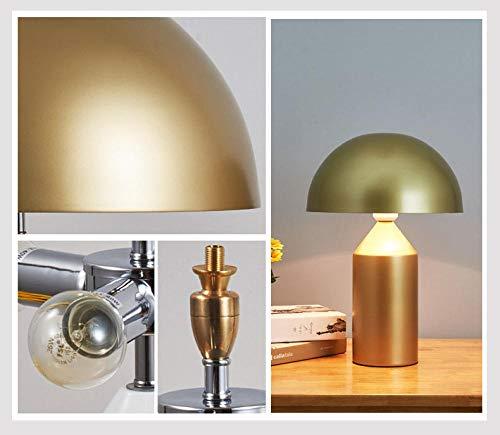 Schlafzimmer Schreibtisch Kompass Award Pilz Tischlampe 28cm * 40cm E14 Lichtquelle Gold -