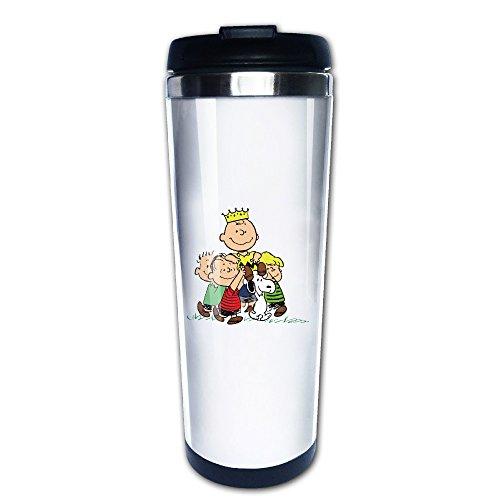 Charlie marrón Snoopy taza de café tazas de té para viaje