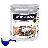 Nortembio Sal de Epsom 800g, Fuente concentrada de Magnesio, Sales 100% Naturales. Baño y Cuidado Personal.