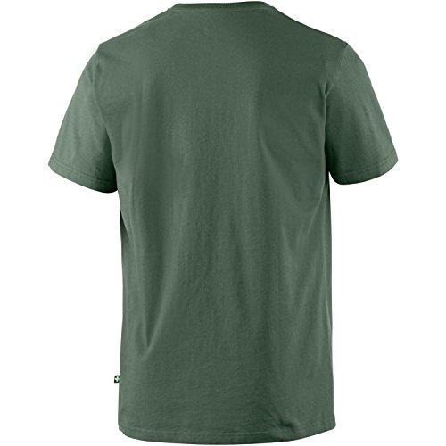 Alprausch Herren Printshirt dunkel grün