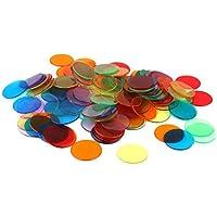 120pcs Bingo puces marqueurs pour cartes de jeu de bingo 6 couleurs