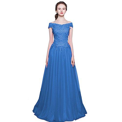 Vimans - Robe - Trapèze - Femme Bleu