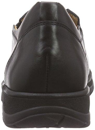 Ganter - Hugo, Weite H, Pantofole Uomo Nero (schwarz 0100)
