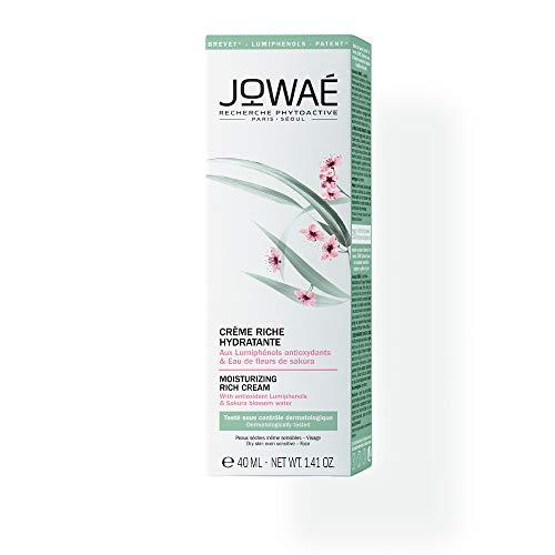 JOWAE Feuchtigkeitsspendende Creme Ai Schnecken Antioxidantien und Sakura Blumenwasser - trockenes Haut, auch die empfindlichsten - Viso - 98% natürliches - Vegan - 40ml